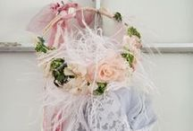 ♡ Beautiful Dream Catchers, Ribbon Garlands and Banners ♡ / by Toynette
