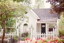 ♡ Charming White Cottage ♡ / by Toynette