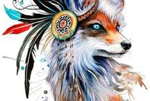 Foxes, Wolves & Indians