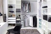 Vaatteiden ja asusteiden säilytys