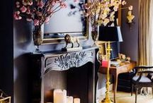 chic fireplaces