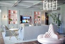 chic interiors / by Ashlina Kaposta