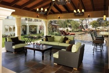 Outside - Sun Rooms, Porches, Patios, Pools, Pergolas & Gazebos / by Chris Strautnieks