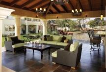 Outside - Sun Rooms, Porches, Patios, Pools, Pergolas & Gazebos / by Chris Strautnieks