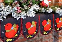 Christmas crafts / by Amy Beauchesne
