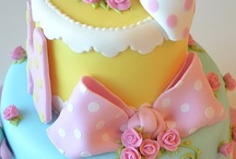 Lovely cakes & cupcakes design / Every cake decorations that I would love to try