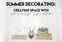 THE DECORISTA . COM / decorating and lifestyle ideas...