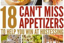 Appetizers / Appetizer recipes, appetizer roundups, Appetizer ideas