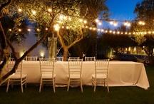 Inspiration / #borgovallerita #events #location #country #resort #lifestyle #restaurant #food #dessert #cakes #table_setting #outdoors #fruits #festoonlight #candles