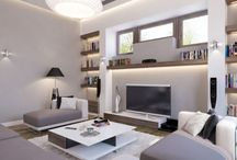 TV Room Ideas / by Clara Fortuna
