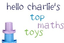 Top Toys for Maths Skills / Great toys for helping your baby or toddler develop understanding of basic maths concepts, including size, patterns, shapes and counting. For more ideas on what to do with your baby, see our post: http://www.hellocharlie.com.au/toy-guide-how-to-develop-your-babys-mathematical-skills/