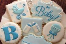 Cookie Creations: Baby / Baby themed sugar cookies / by Amanda Morris