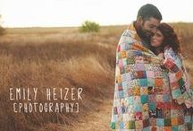 Engagement Portraits / Visit us online at http://www.emilyheizer.com  / by Emily Heizer Photography