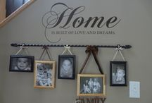 Home Decor / by Erica {Living Legacy Homeschoolers}