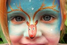 Fabulous Face Paint Creations / Be inspired by these wonderful face painting efforts!!
