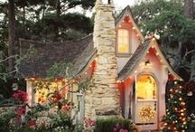 Fairytale houses for adults / Why let kids have all of the fun?