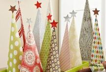 Christmas Trees / Sick of the traditional Christmas Tree? We've got some fun alternative ideas ...