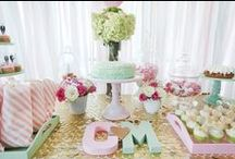 Party Perfect: Bridal & Wedding Showers / Inspiration to throw the perfect pre-wedding bash!