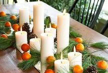 Natural Christmas decorations / Enjoy the wealth of natural Christmas decoration ideas that we have found. We love the idea of recycling and creating fabulous things that mean that little bit more as you have had a hand in creating them.