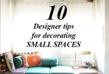 Tips and Tricks For Decorating / Tid bits to make your space even that much more amazing!