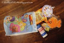 QUADS BIRTHDAY - 2 Y E A R S / Bubble guppies themed birthday party for our two year old toddlers!