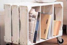 Paletten / Ideen zum Gestalten mit Holzpaletten