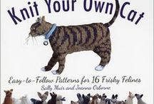 Crafts: Knit Kittens / Inspiring ideas for knitting and crafting with a feline theme.