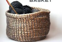 Crafts: Basket Cases / Storage Ideas: The world of creating attractive and useful containers. :)
