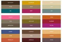 Wedding Color Palette / Soooo many to choose from. / by Paula Krantz