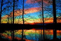 God's Glorious Masterpieces / Never get tired of God's Artworks and Wonders! / by Diane Bockus