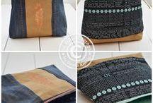 Taschen nähen / Ideen zum Nähen von Taschen