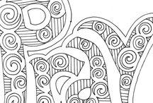 Zeichnen/Zentangle/doodling