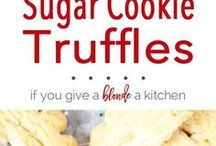 Holiday Cookies / Holiday Cookie Recipes.  cookies | holiday cookies | recipes