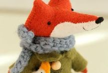 Crafts: Foxy Projects / Ways to incorporate fox themed images into crafting projects.
