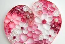 Crafts: Heartfull / Crafting ideas using heart patterns.