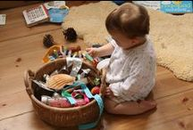 Montessori Activities at Home / Montessori is a wonderful way of helping children to learn through play. They'll be so engrossed, they won't realise that they're learning life skills with these great activities you can do at home.