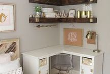 Home Style: Office / Ideas for making a working space at home.