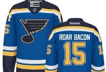 St. Louis Blues Fan Board / The team at The Clix Group bleeds blue. Here's to supporting our St. Louis Blues. #STL