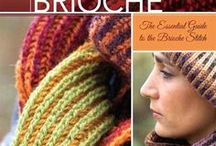 Crafts: Knit Double / Double knitting techniques and patterns, including Brioche stitch and Twigg stitch.