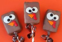 Thanksgiving Fun / A fun holiday board to help celebrate Thanksgiving. Time to get inspired with The Clix Group's favorite seasonal decorations, recipes, and crafts. #ClixFuel #HappyThanksgiving