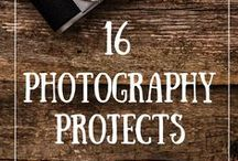 Photography: Making Moments / Photo challenges, suggested themes for projects.