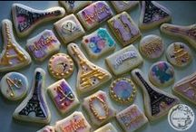 Snazzy Custom Cookies / custom cookies, watercolor cookies, hand painted cookies by Snazzy Cakes in Duluth MN