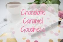 Chocolate Caramel Goodness / March 19 is International Chocolate Caramel Day.  These recipes are fitting ways to celebrate!