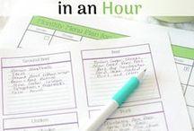 Meal Planning / Meal Planning Printables Binders Strategies