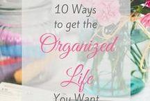 The Organized Family / Organization binders, organization printables, personal organization,