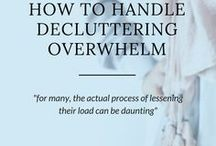 Declutter Your Life / Decluttering your home and your life, can make you more productive and eliminate stress.  Here you will find helpful tips and secrets to decluttering you home and life.