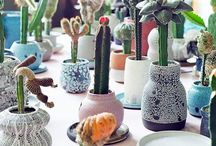 green thumb / garden inspiration with plants + photographs + products