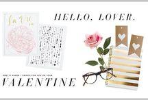 valentine. / None