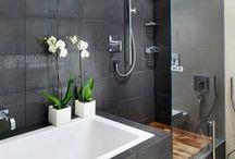 ☆ B A T H R O O M S ☆ / Bathroom Designs / by 'Sami Jo'