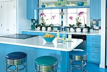 "Home - Kitchen redo ideas / ""Good kitchens are not about size; they are about ergonomics and light."" 